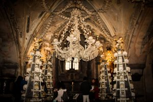 bone chapel interior