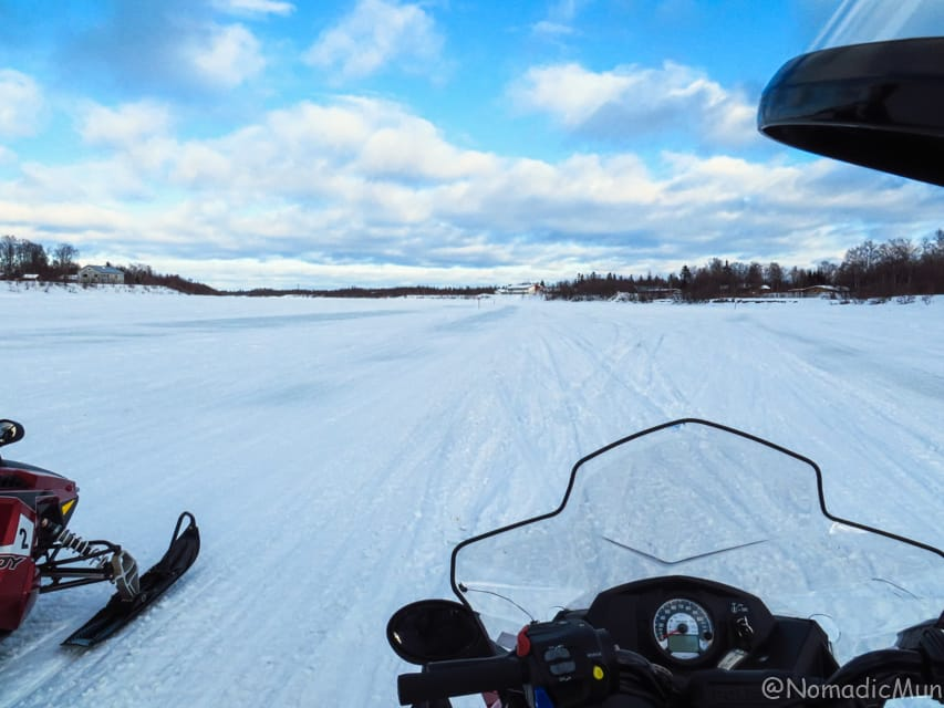 snowmobile_Ivalo