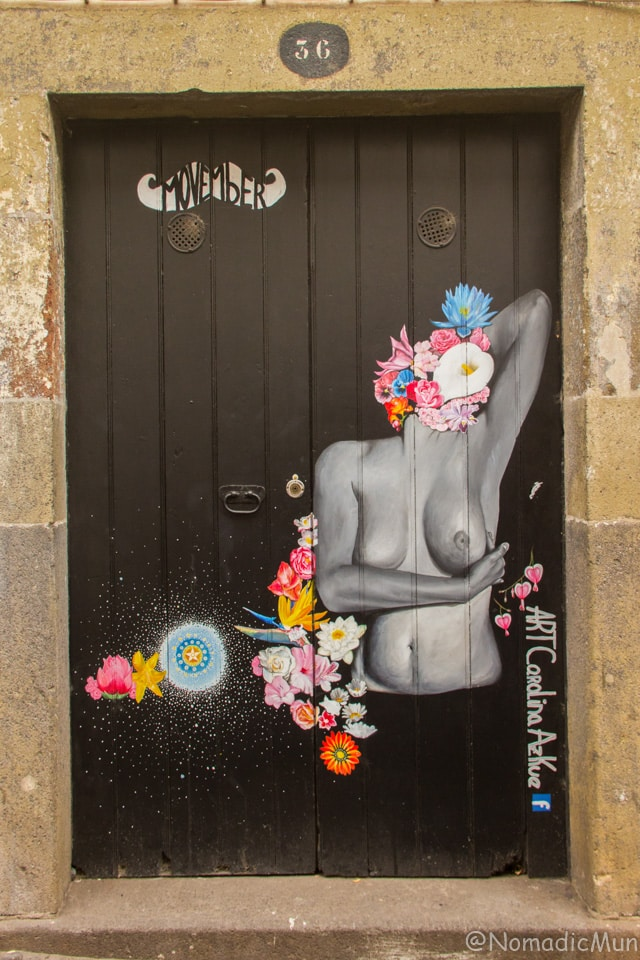 Door Painting_Funchal_Madeira