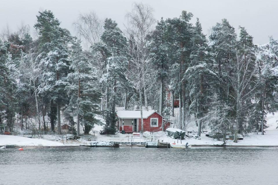 winter in espoo finland