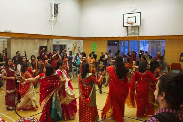 Dance in Mohamaya Durga Puja