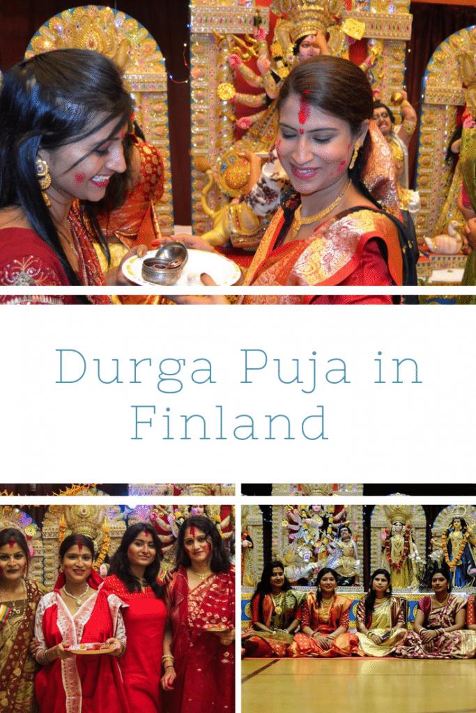 Durga Puja pin Image