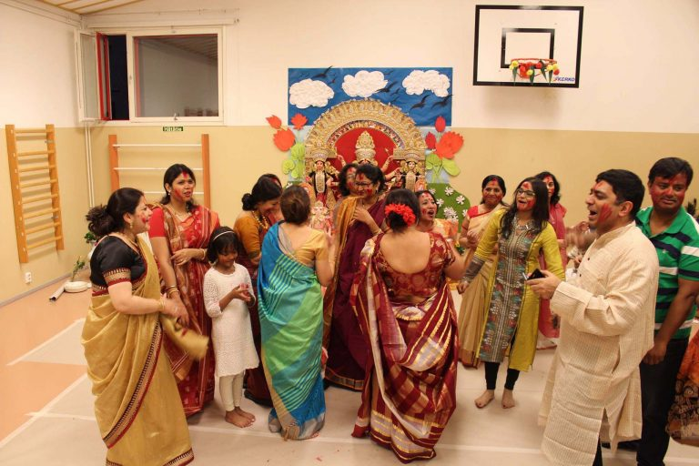 Durga Puja in Finland