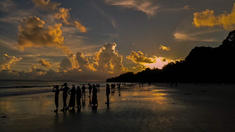 sunset-radhanagar-beach-andaman