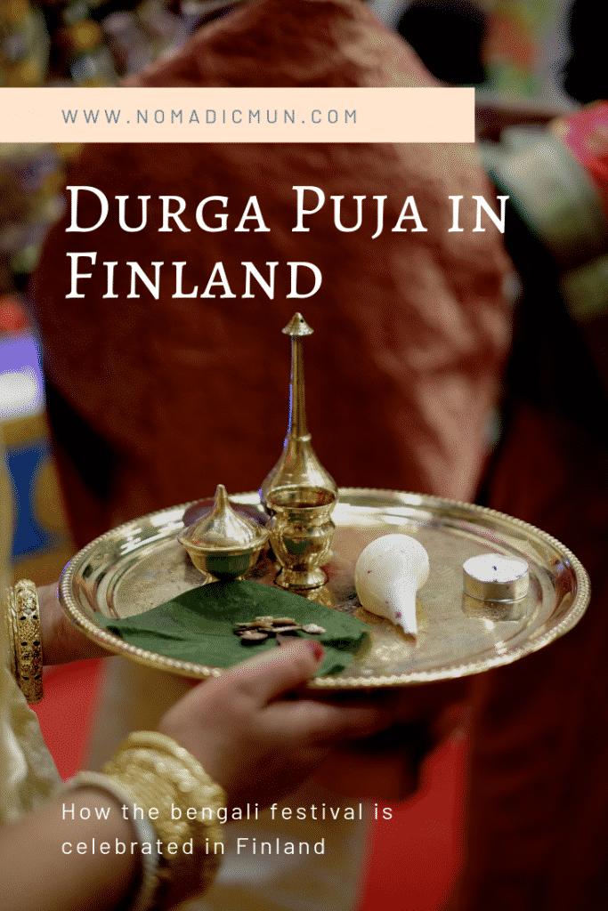 Durga Puja in Finland Cover