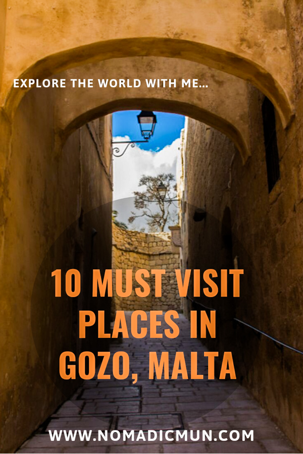 10 must visit places in Gozo