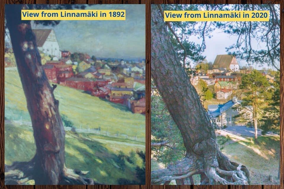 view from linnamäki