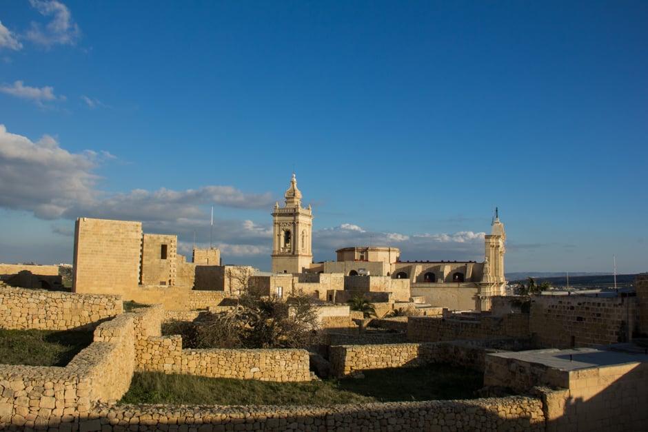 Cittadella of Rabat in Gozo