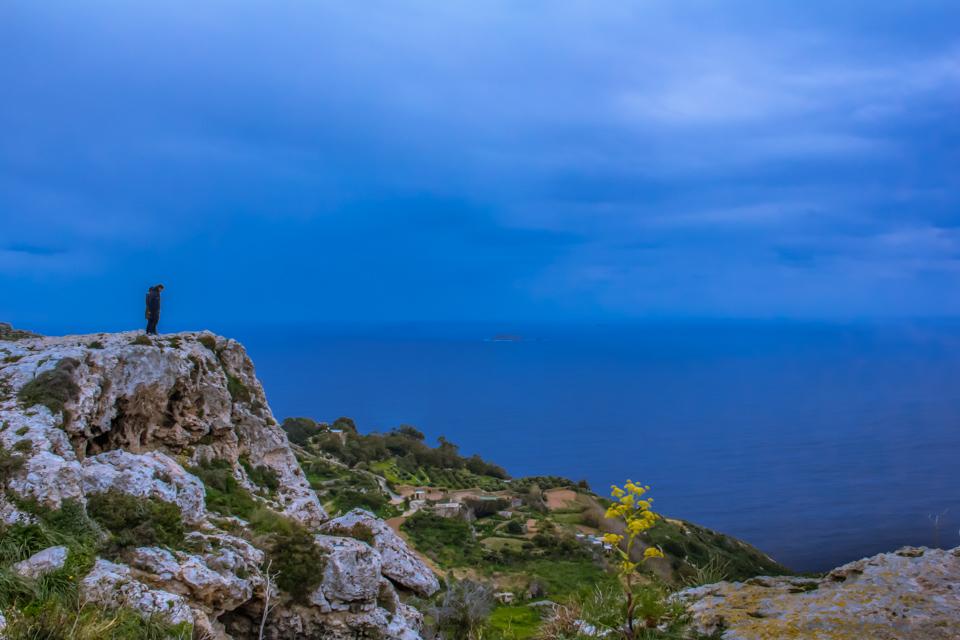 dingli cliff in malta