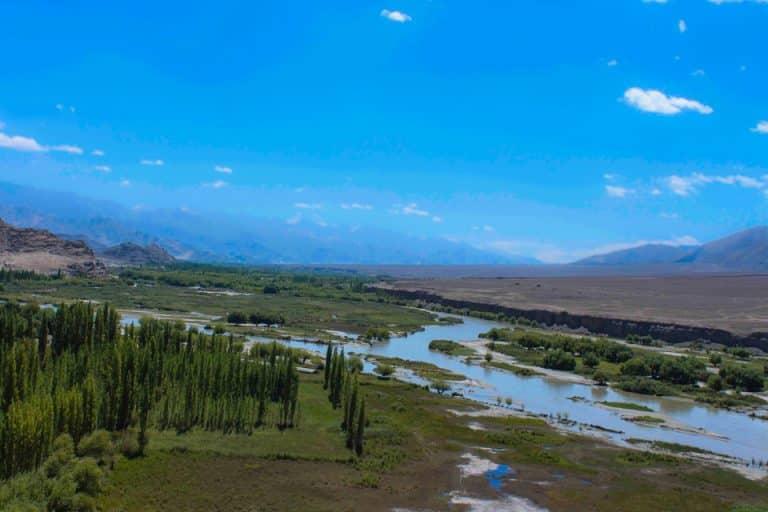 Indus River in ladakh