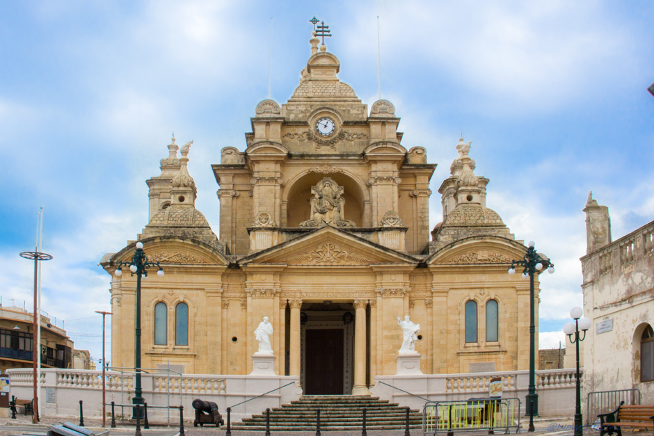 Nadur Church in Gozo