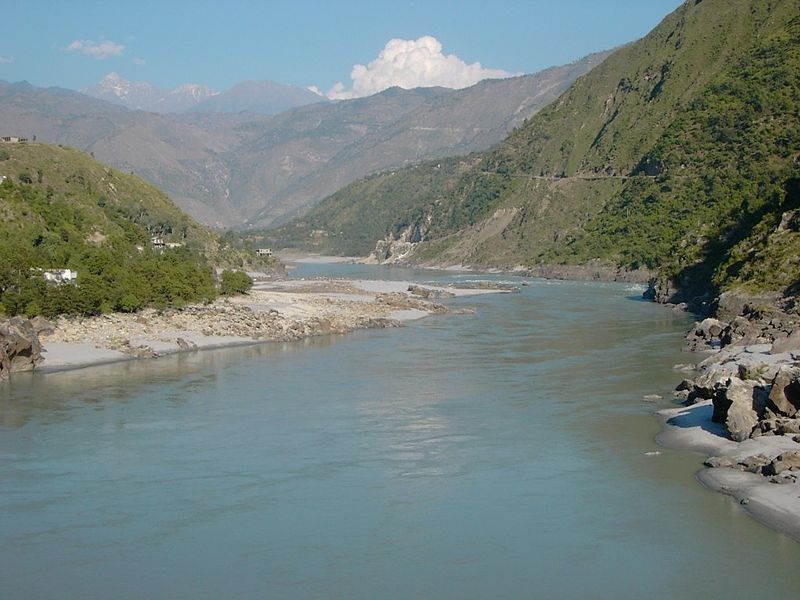 Indus River in Ladakh