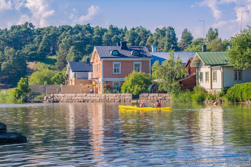 Kayaking in Porvoo