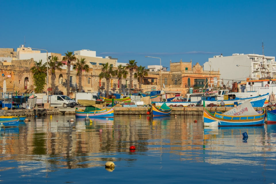 Marsaxlokk , the fishing village