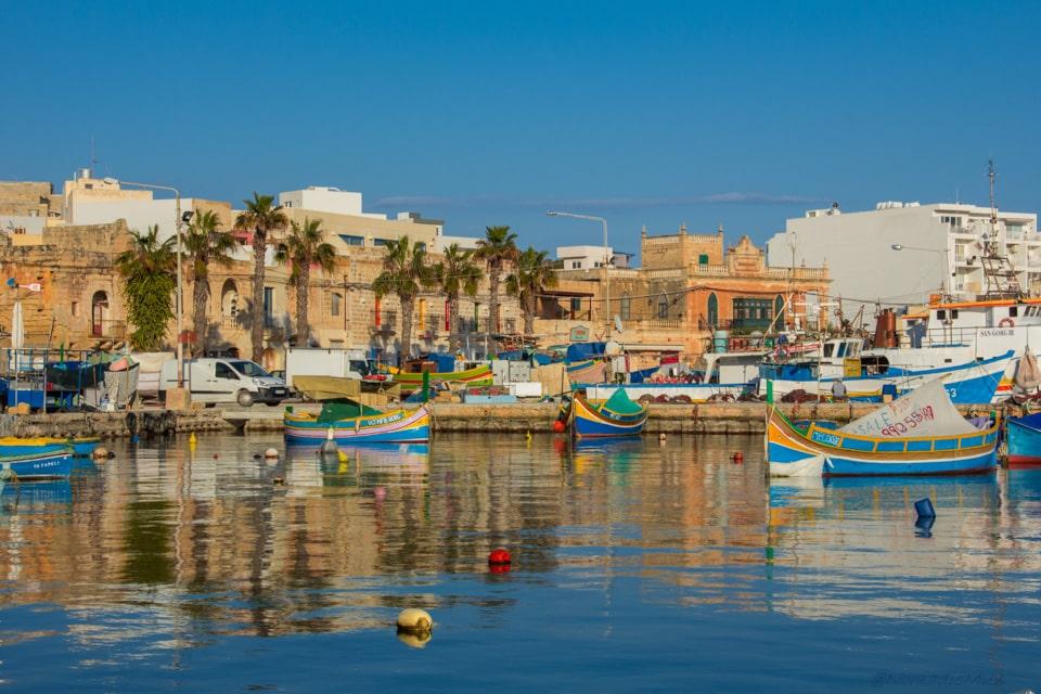 Marsaxlokk , the fishing village
