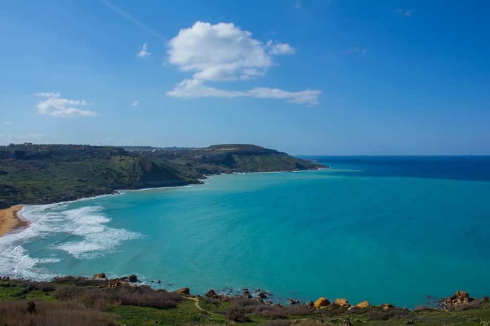 Ramla bay in Gozo - malta travel guide
