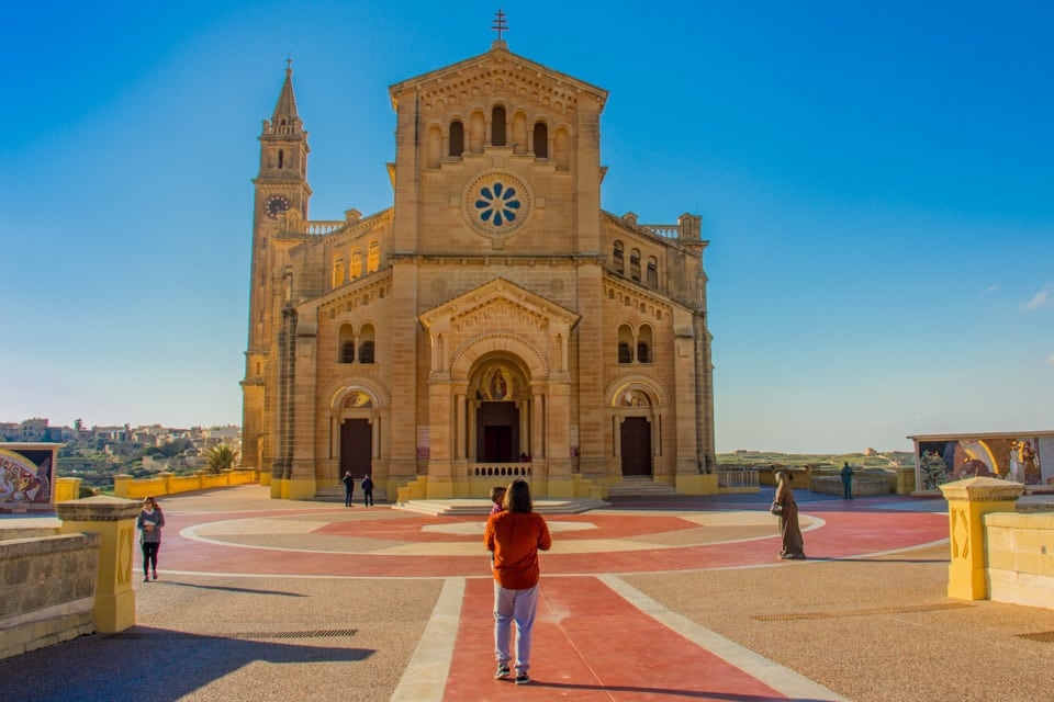 Ta' Pinnu Basilica in Gozo - malta travel guide