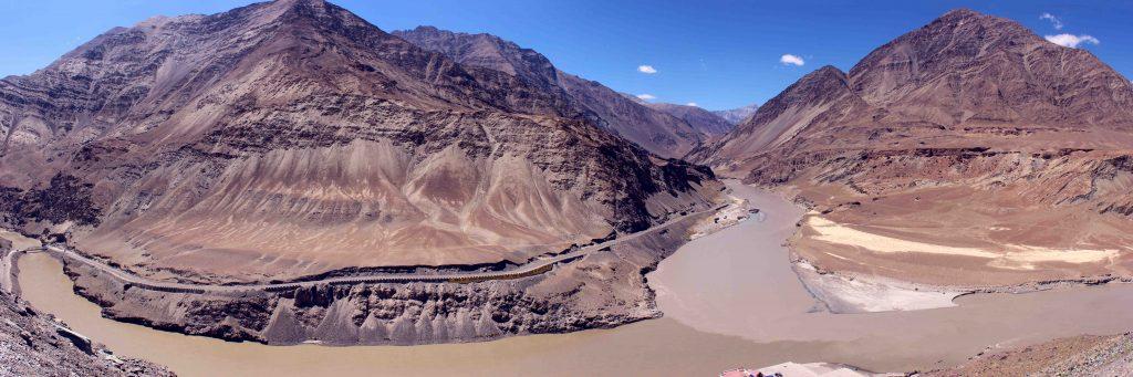sangam in ladakh