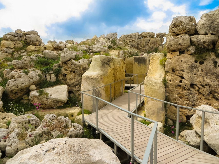 ggantija temple in Gozo - malta travel guide