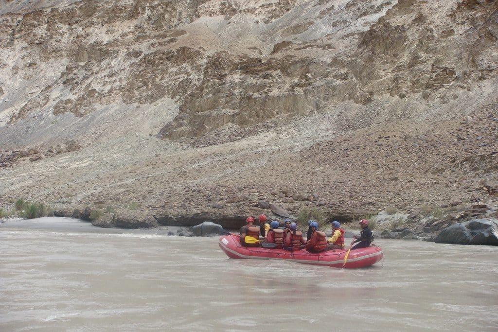 Rafting in Sangam Ladakh