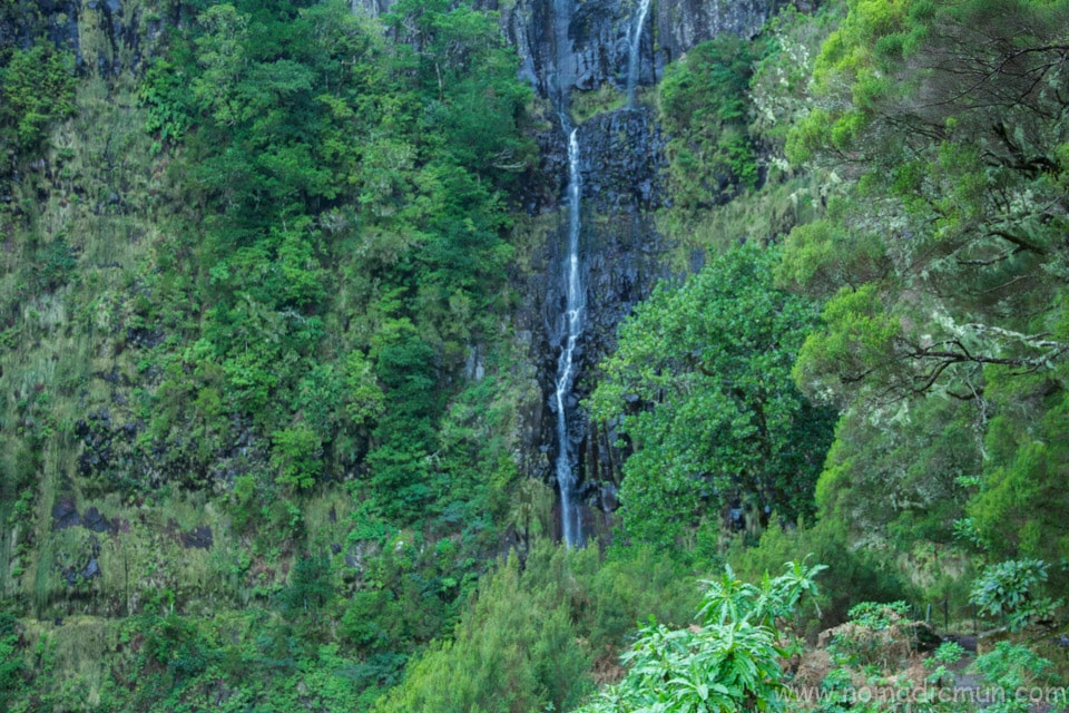 Risco waterfall Rabacal Madeira Portugal