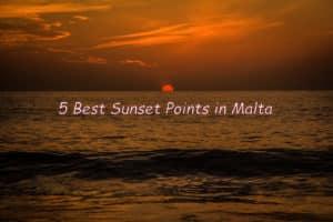 Malta sunset cover