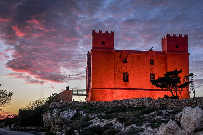 Red Tower in Malta