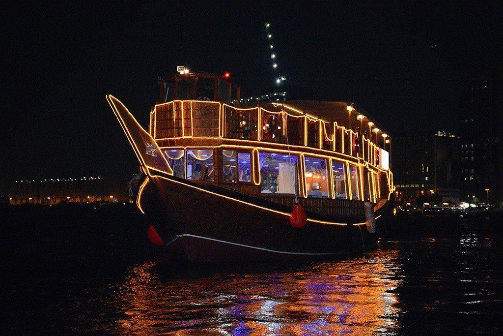 Dubai Travel - Dhow Cruise Dubai