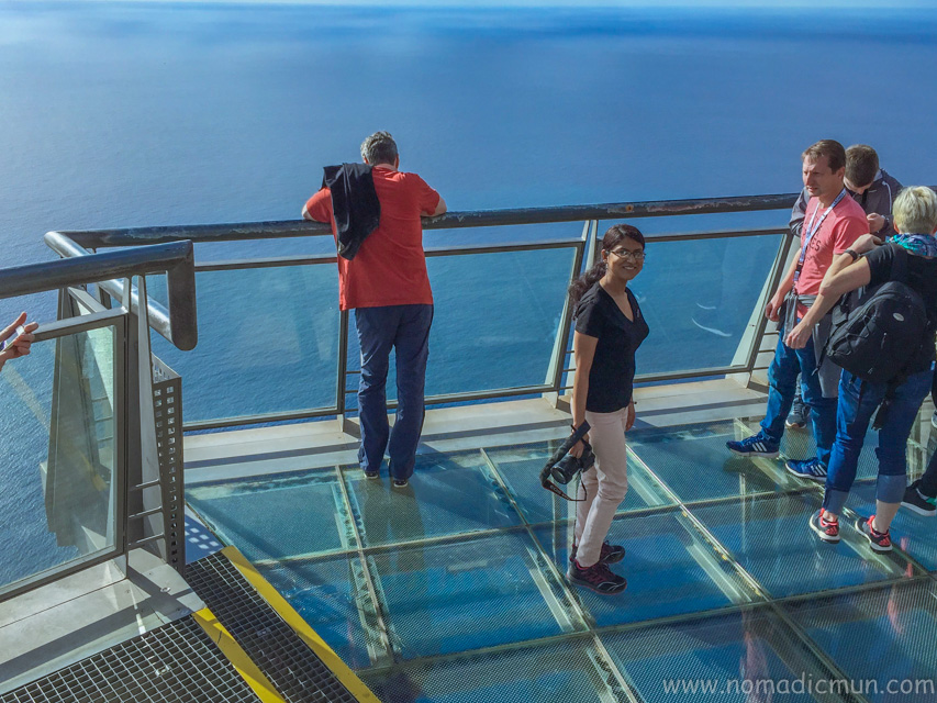 Glass floor skywalk_Cabo Girao_Madeira
