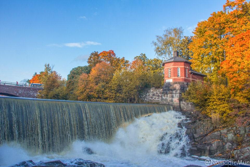 vanhakaupungin koski, Rapids of old town Helsinki
