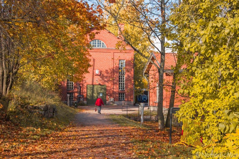 Power Plant Museum in Helsinki vanhakaupunki