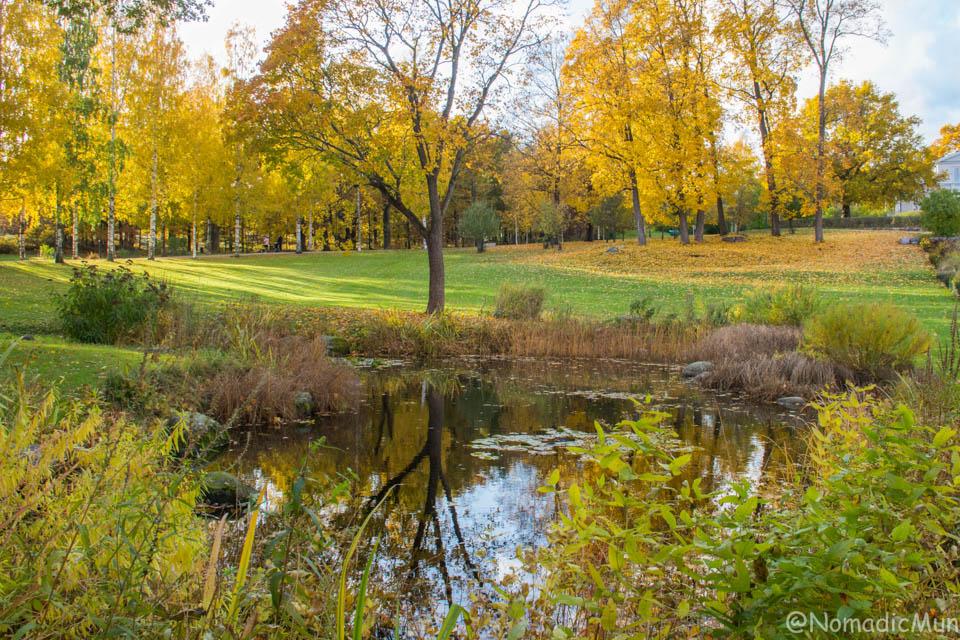 Annala Manor Park In Helsinki vanhakaupunki
