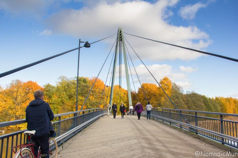 Matinkaari Bridge in Helsinki vanhakaupunki