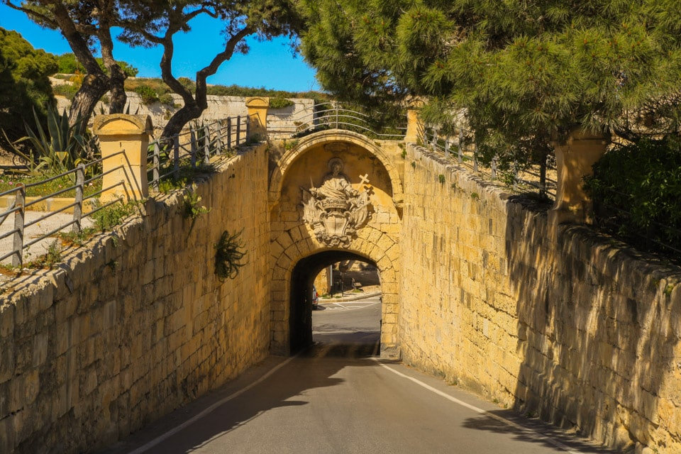Malta Mdina Greek's Gate