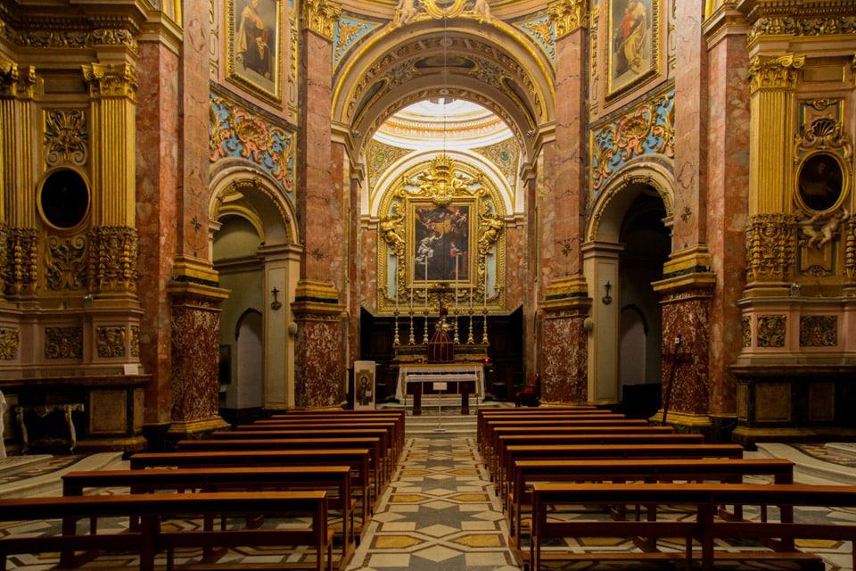 Baroque Carmelite Priory Malta