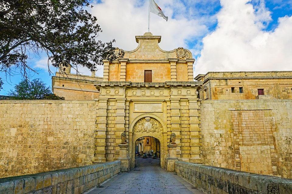 Mdina_Main_Gate_Mdina_Malta