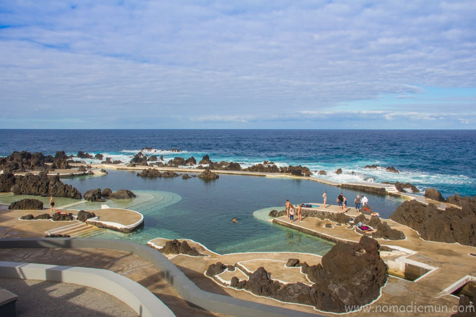 Porto Moniz Swimming Pool Madeira
