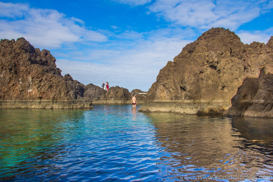 Natural Swimming Pool in Porto Moniz