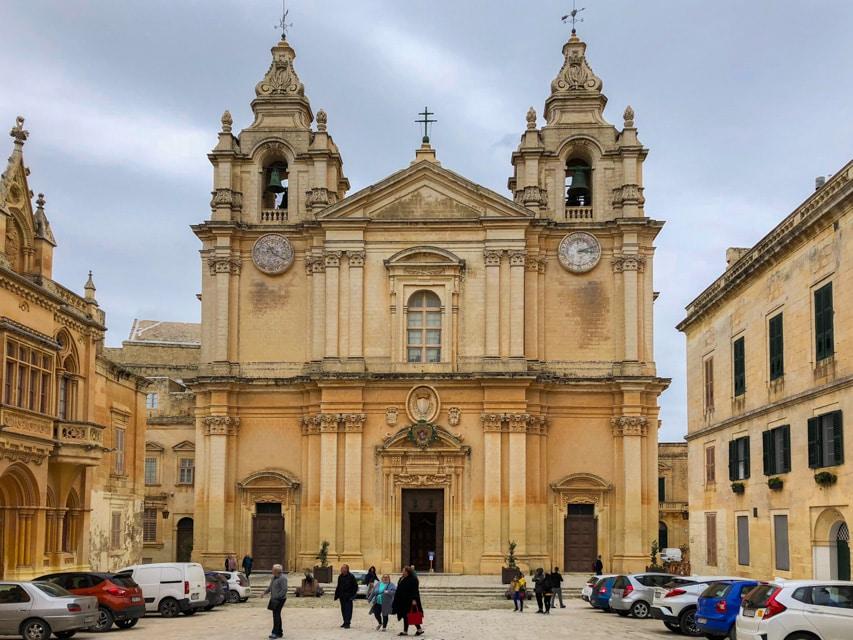 St. Paul's Cathedral, Mdina , Malta