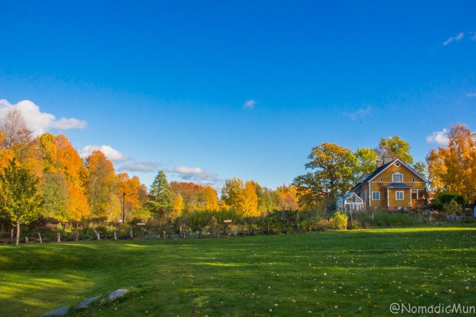 Annala Garden in Helsinki old town