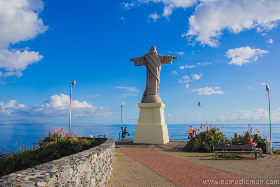 Christ, the King statue_Ponta do Garaju_Madeira_Portugal