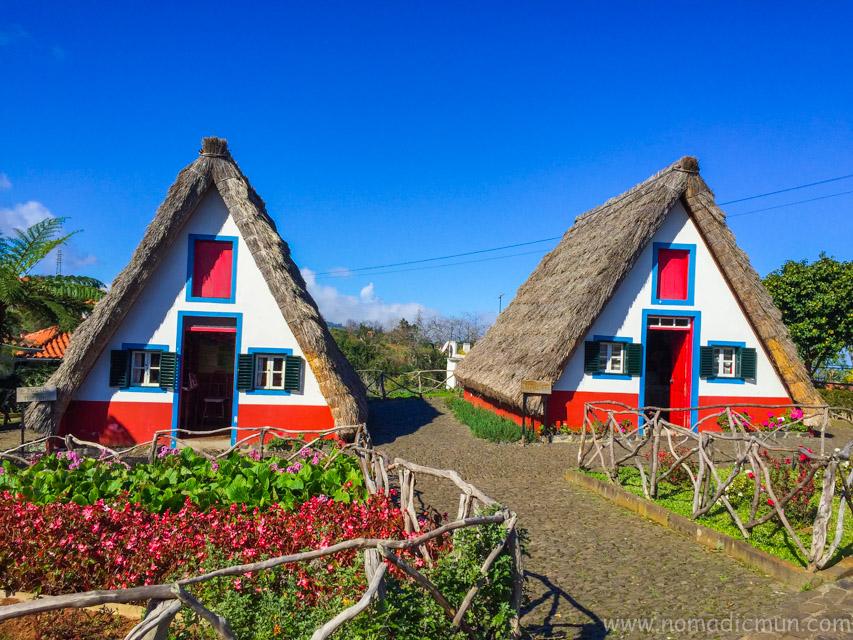 Santana thatched house_Madeira_Portugal