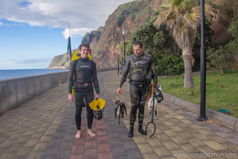 Fishing in Madeira