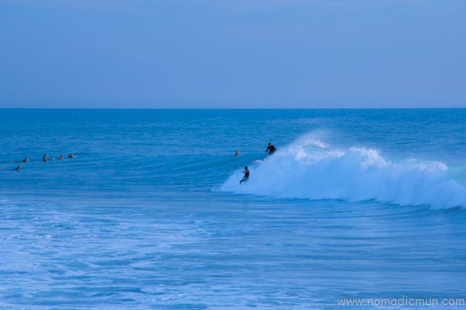 surfing in Madeira