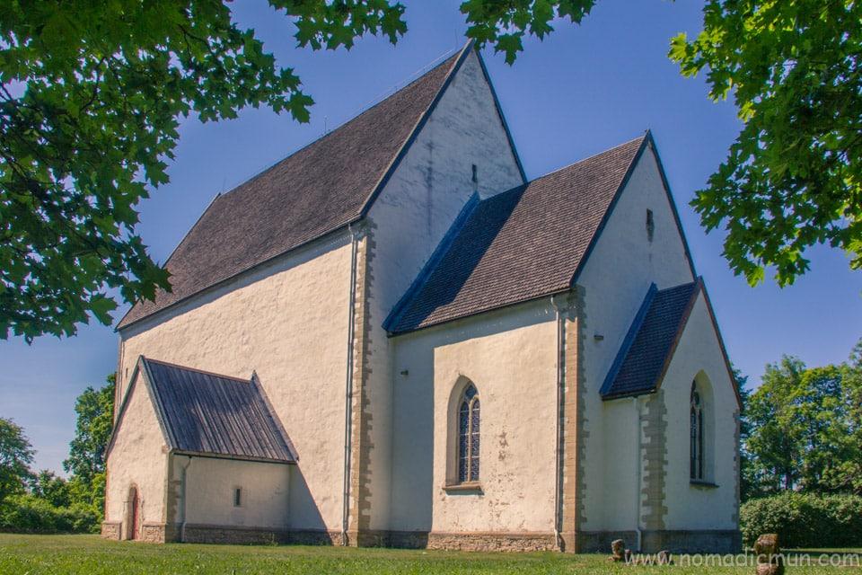 Muhu Church Saaremaa