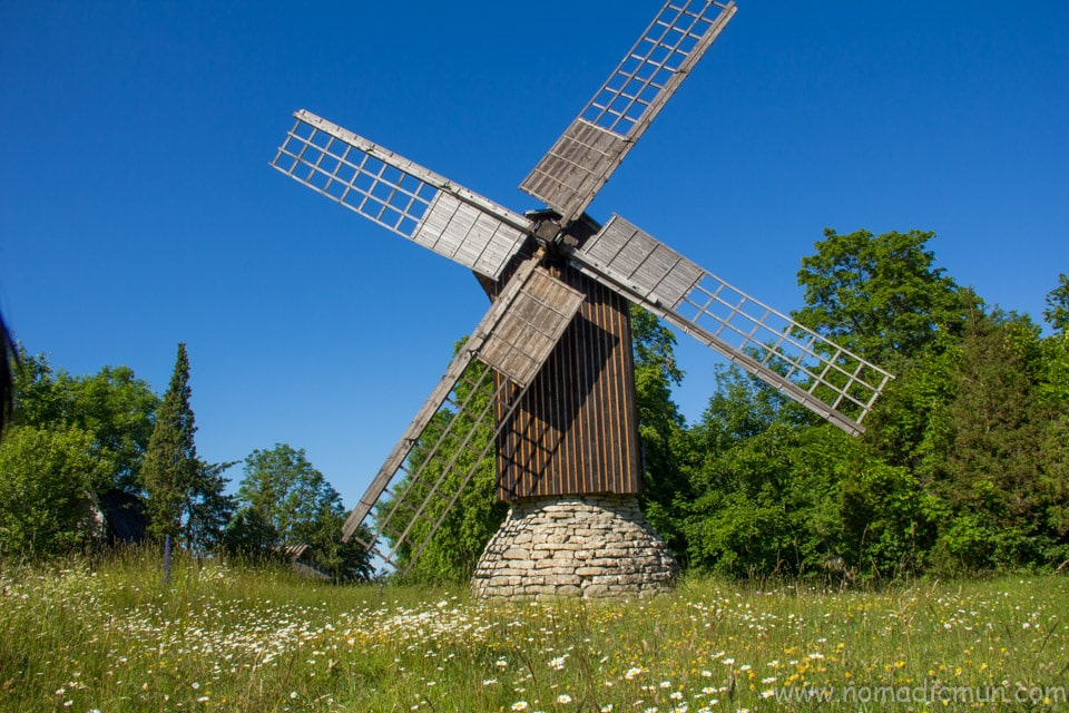 eemu windmill Muhu
