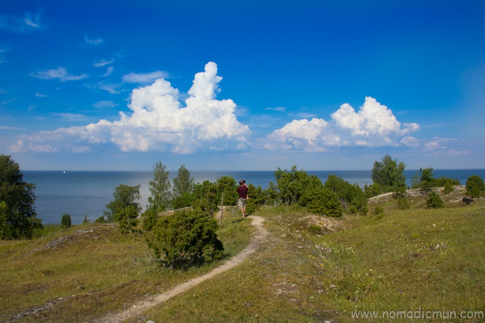 Uugu cliff muhu estonia