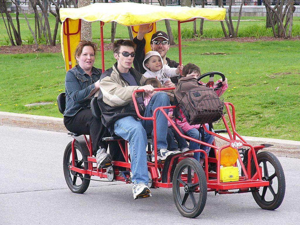 Quadricycle Ride