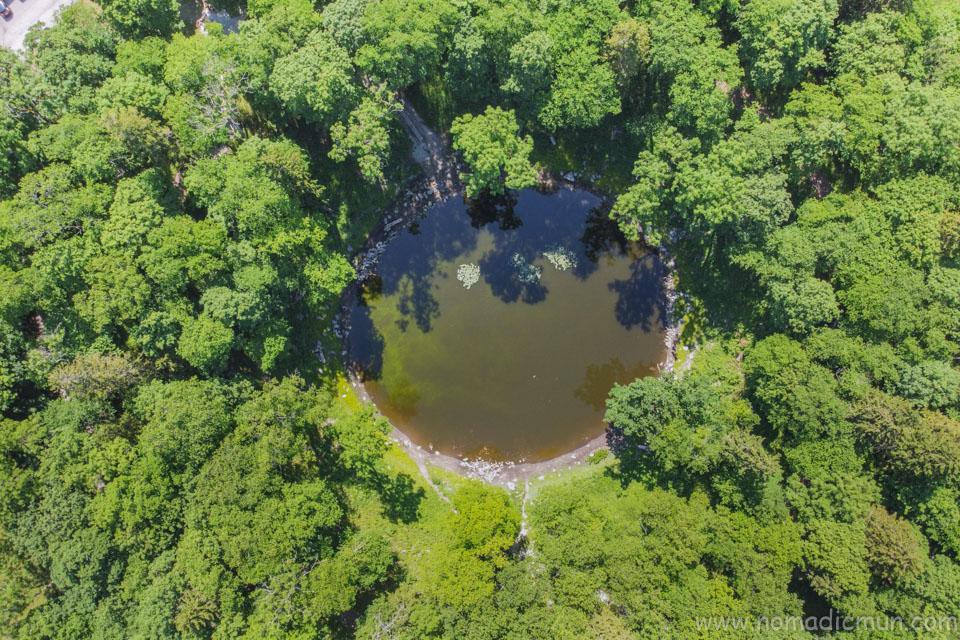 Kaali Meteorite Crater saaremaa Estonia