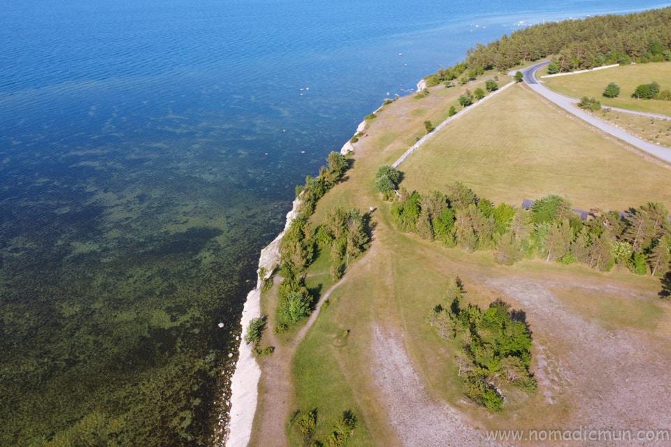 panga cliff saaremaa